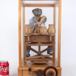 "Automaton, ""THE POTTER '92"", signed underside ""Jerry Harper"""