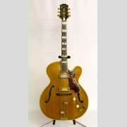 C. 1950's Ephiphone Zephyr Regent Deluxe arched top electric guitar.