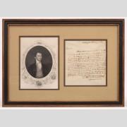 James Monroe Signed Letter