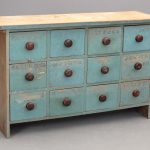 19th c. (12) drawer New England apothecary chest