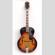 Vintage Gretsch archtop guitar.