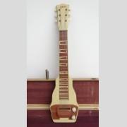 Vintage Gibson lap steel guitar in original case.