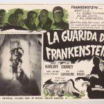 "Lobby card ""LA GUARIDA DE FRANKENSTEIN""."