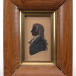 J. W. Jarvis (Philadelphia 178--1840), miniature watercolor of a man