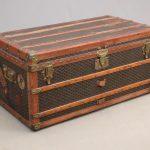 Early Goyard trunk. Hardware marked Goyard.