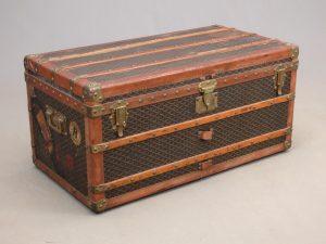 Early Goyard trunk.