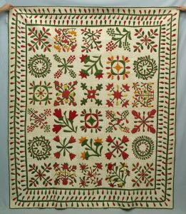 C. 1850 Maryland album quilt