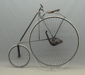 C. 1889 Star High Wheel Bicycle
