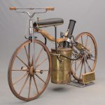 100A. William Eggers 1867 Roper Steam Velocipede Replica