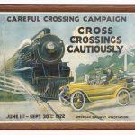 "231. Early American Railway Association print. Dated LLC ""JUNE 1st-SEPT. 30th 1922""."