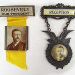Lot (2) C. 1904 Teddy Roosevelt Campaign badges