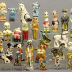 (42) Vintage Chalkware Carnival Statues