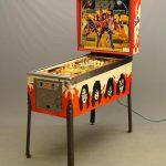 Vintage Kiss pinball machine. Bally dated 1978