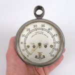662. Standard Thermometer Co. Cadillac speedometer.