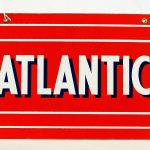 "687. ""Atlantic"" porcelain single sided"