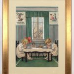Harry F. Wireman (American 19th/20th c.), original Cream Of Wheat illustration