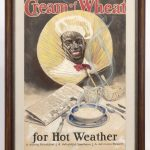William Cahill (Cal./N.Y./KS./Ill. 1878-1924), original Cream Of Wheat illustration. Gouache and watercolor