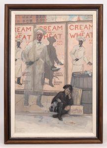 Arthur Crisp (N.Y./Ct./ME./Ontario/Canada, 1881-1974), original Cream Of Wheat illustration. Oil on canvas