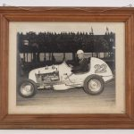"""72. C. 1940's Ronnie Householder photograph, signed """"FLASH""""."""