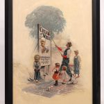 "Edward Vincent Brewer (MN./N.Y. 1883-1971), ""Circus Day"", original Cream Of Wheat illustration"
