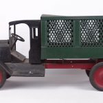 749. Early pressed steel delivery truck