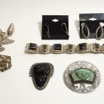 Vintage Mexican Silver Jewelry Lot