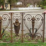 Selection of Outdoor Items, Pair of Decorative Gates