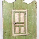 19t c. Hanging Corner Cupboard