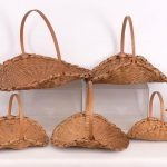Nest of (8) Liz Proper Taghkanic baskets