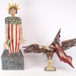 Lot (2) pieces of Jim Lambert