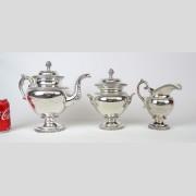 19th c. Silver Tea Set