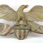 6. Folk Art Carved Wooden Eagle