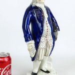 19th c. Ben Franklin Staffordshire figure.