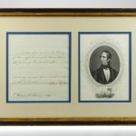 John Tyler 1842 Signed Document