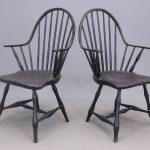 Pair of 18th C. Windsors