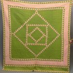 19th c. Sawtooth quilt