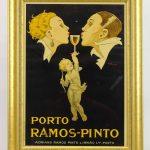 "Poster (or print) ""PORTO-RAMOS PINTO""."