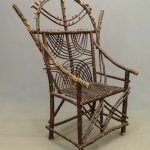 Folk Art Adirondack Chair