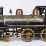 "C. 1890's ""440"" live steam locomotive"