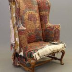 18th c. Queen Anne wing chair