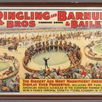 1939 Ringling Brothers Circus Poster