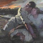 Harry T. Fisk (N.Y. 1887-1974), illustration, oil on canvas