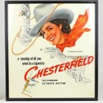 Dennis Magdich (United States 20th Century), original Chesterfield illustration
