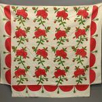 19th c. Applique Quilt