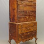 18th c. New Hampshire Dunlop School Highboy