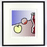 Roy Lichtenstein (1923-1997), Screenprint on Lanaquarelle watercolor paper, 1994 signed and numbered edition (#19/250)
