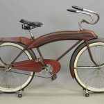 1938 Shelby Airflow Balloon Tire Bicycle