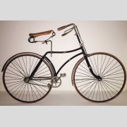 C. 1890's Lovell Diamond Hard Tire Safety Bicycle