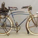 C. 1936 Iver Johnson Bicycle With Motor Wheel