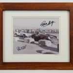 Phil Hill And Carroll Shelby Signed Photograph